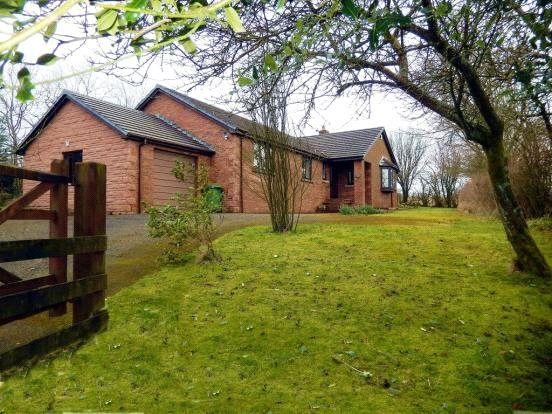Thumbnail Detached bungalow for sale in Curlew Meadows, Penton, Carlisle, Cumbria