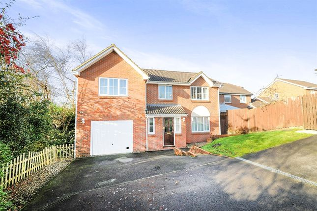 Thumbnail Detached house for sale in Garth Close, Chippenham