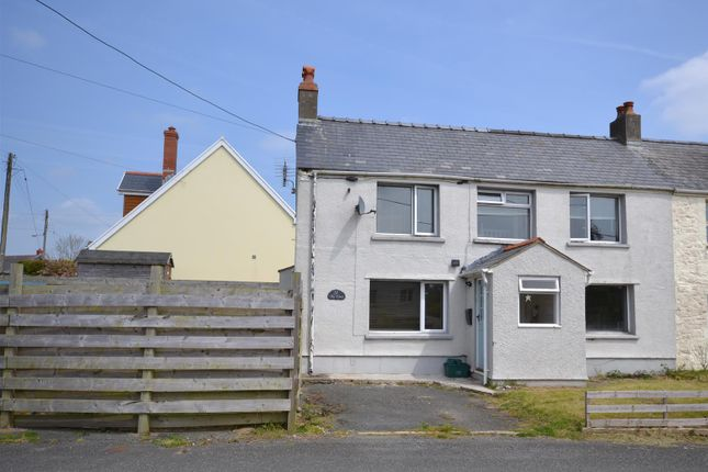 Thumbnail Semi-detached house for sale in Newtown Road, Hook, Haverfordwest