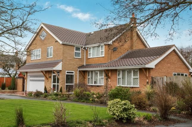 Thumbnail Detached house for sale in Bollin Close, Alsager, Stoke-On-Trent, Cheshire