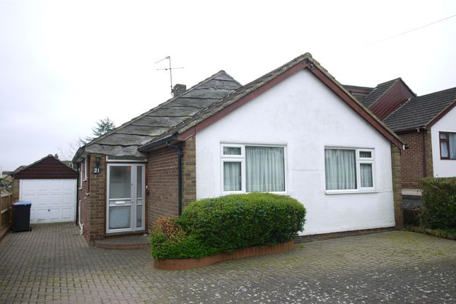 Thumbnail Detached bungalow for sale in Cranfield Crescent, Cuffley, Potters Bar