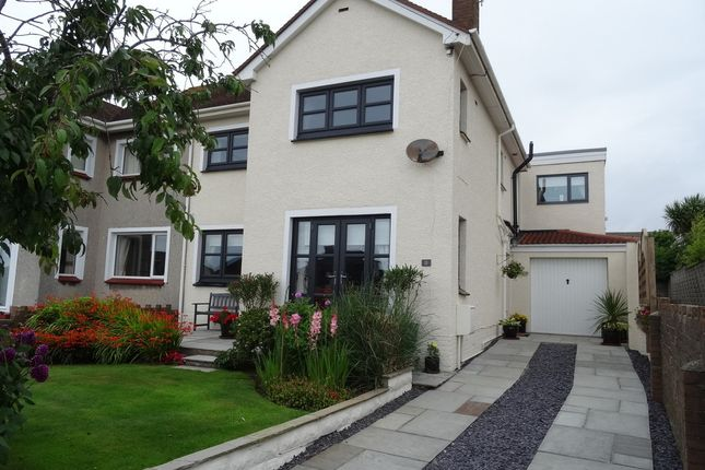 Thumbnail Semi-detached house for sale in Pen Y Lan Avenue, Porthcawl