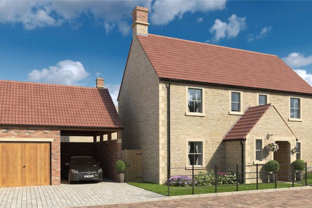 Thumbnail Detached house for sale in Cherry Tree Lodge, Church Farm, Frome Road, Rode