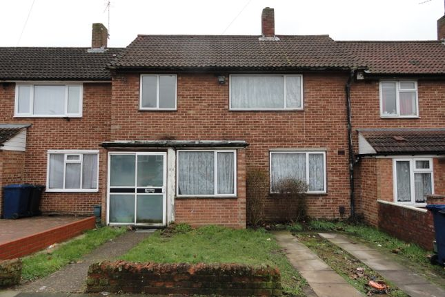 Thumbnail Terraced house for sale in Vanbrough Crsecent, Northolt