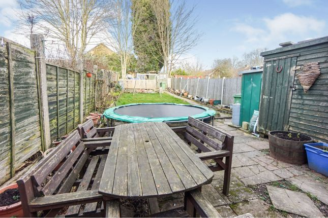 Rear Garden of Old Park Road, Dudley DY1