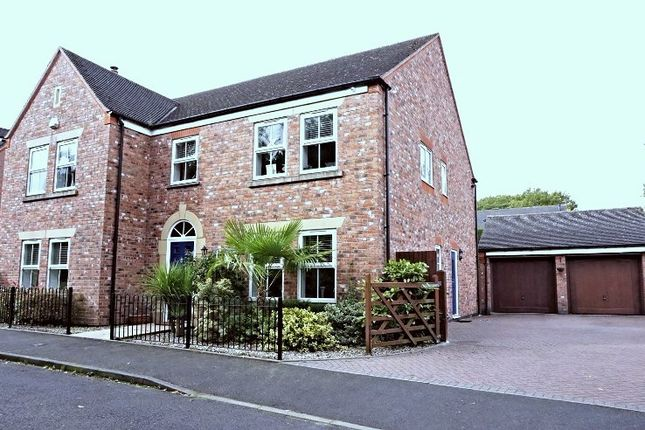 Thumbnail Detached house for sale in Three Acres Lane, Solihull