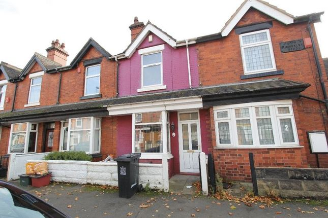 Thumbnail Terraced house to rent in Kimberley Road, Newcastle-Under-Lyme