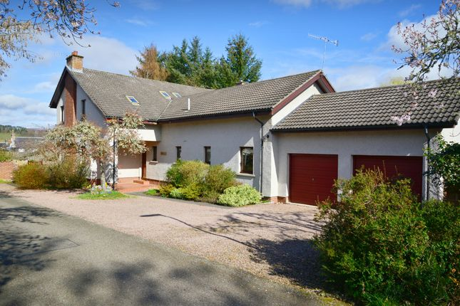 Thumbnail Detached house for sale in Top Street, Conon Bridge