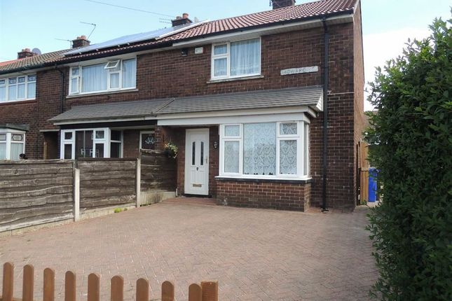 Thumbnail End terrace house to rent in Howard Street, Audenshaw, Manchester