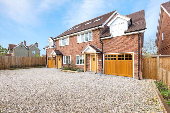 Thumbnail Semi-detached house for sale in Flint Mews, Chelmsford Road, Shenfield, Brentwood