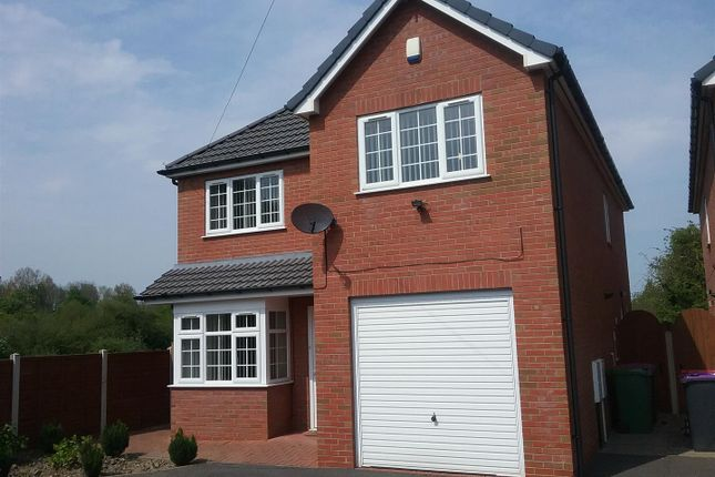 Thumbnail Detached house to rent in Hartshill Avenue, Oakengates, Telford