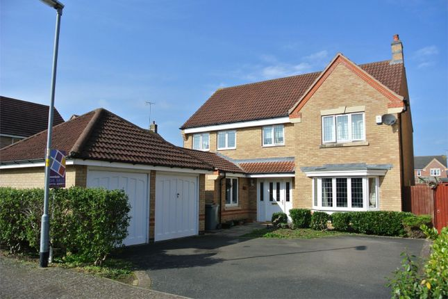 Thumbnail Detached house for sale in Rosemary Gardens, Bourne, Lincolnshire