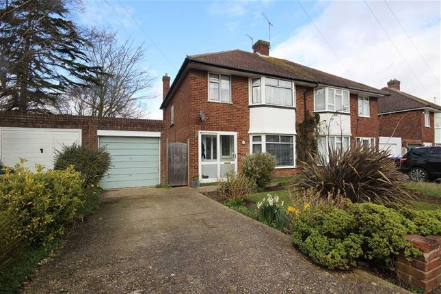 Semi-detached house for sale in Nelson Road, Goring, West Sussex