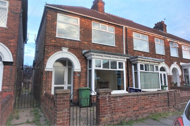 Thumbnail End terrace house to rent in Daubney Street, Cleethorpes