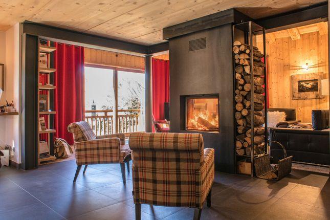 Living Area of Saint Martin De Belleville, Savoie, France