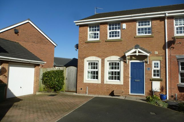 Thumbnail Terraced house to rent in Burnham Place, Lytham St. Annes