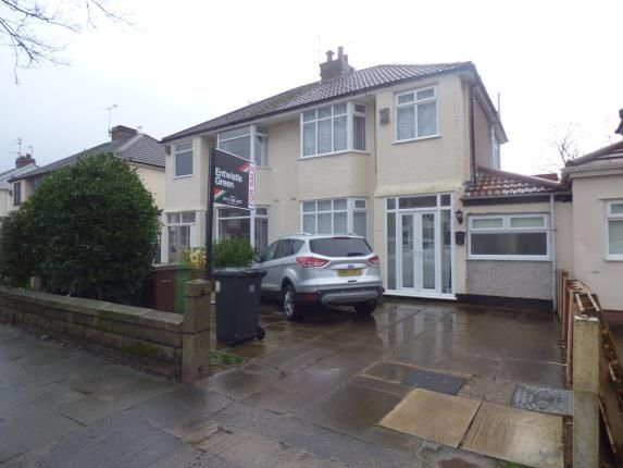 Thumbnail Semi-detached house for sale in Rosslyn Avenue, Maghull, Liverpool, Merseyside
