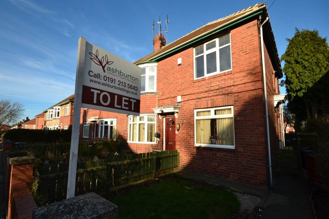 Thumbnail Flat to rent in Linthorpe Road, Gosforth, Newcastle Upon Tyne
