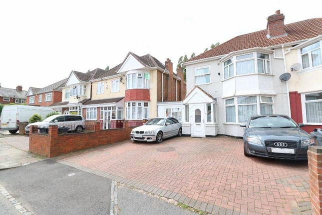 Thumbnail Semi-detached house to rent in Astley Road, Handsworth