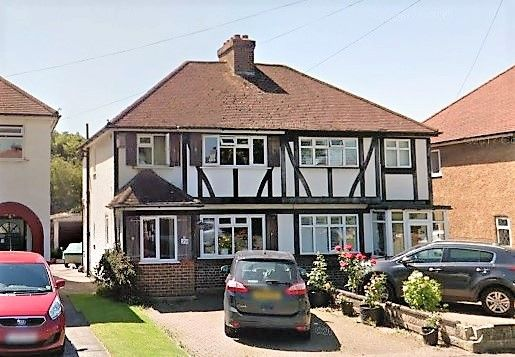 Thumbnail Semi-detached house to rent in Elm Way, Epsom, Surrey