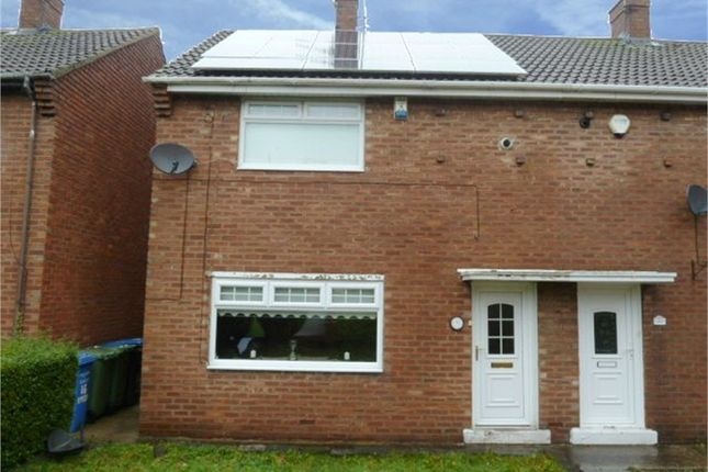 Thumbnail Semi-detached house for sale in Essex Crescent, Seaham, Durham