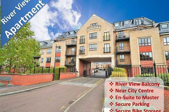 Thumbnail Flat to rent in St Bartholomews Court, Riverside, Cambridge