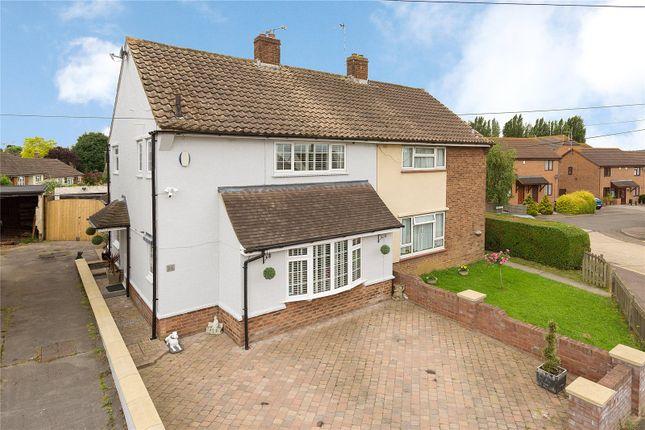 Thumbnail Semi-detached house for sale in Alderwood Drive, Abridge, Essex