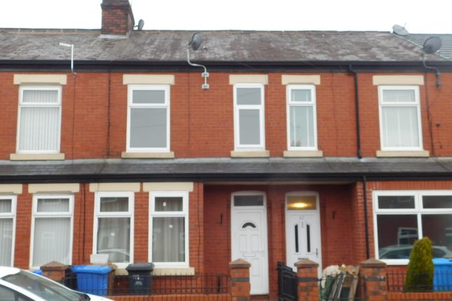 Thumbnail Terraced house to rent in Tootal Road, Salford