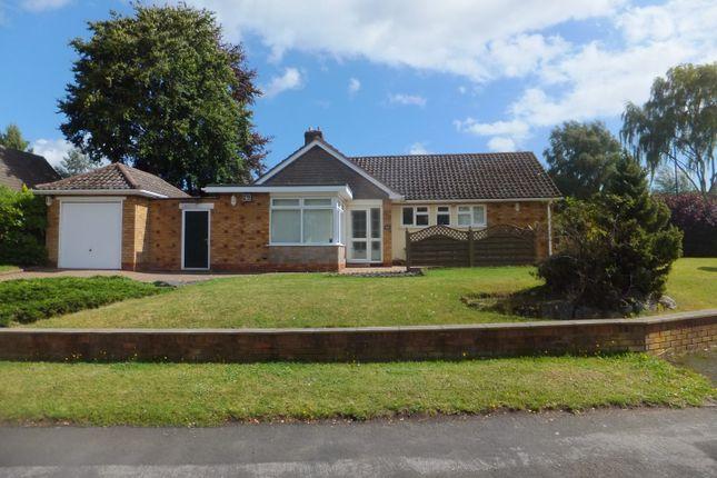 Thumbnail Detached bungalow for sale in Crockford Drive, Four Oaks, Sutton Coldfield