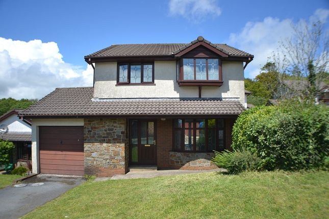 Thumbnail Detached house for sale in The Meadows, Cimla, Neath, Neath Port Talbot.