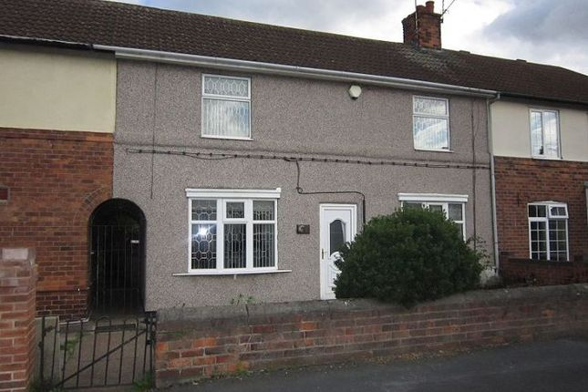 Thumbnail Terraced house to rent in Aberconway Crescent, New Rossington, Doncaster