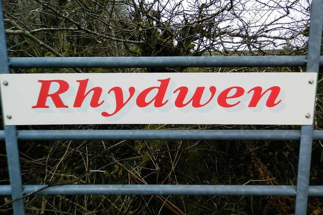 Name Plaque of Talgarreg, Llandysul SA44