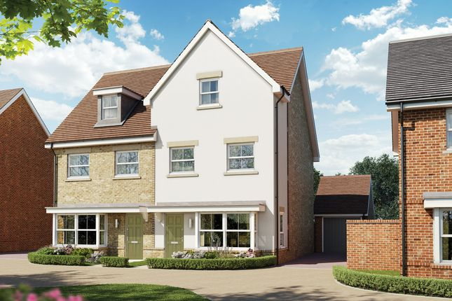 Thumbnail End terrace house for sale in Old Guildford Road, Broadbridge Heath, Horsham