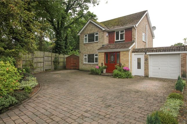 Thumbnail Detached House For Sale In Manor Park Drive Yateley Hampshire