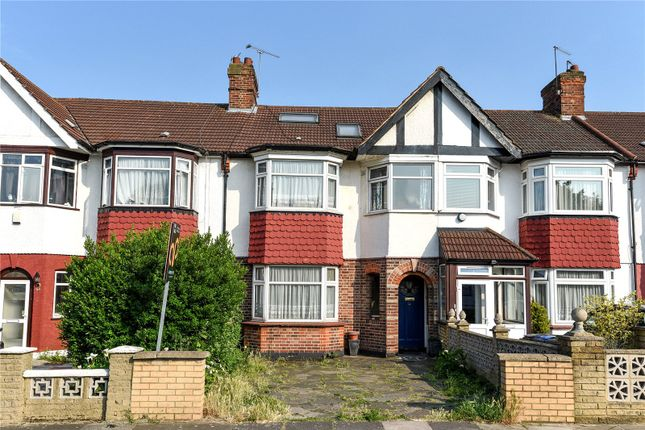 Thumbnail Terraced house for sale in Connaught Gardens, Palmers Green, London
