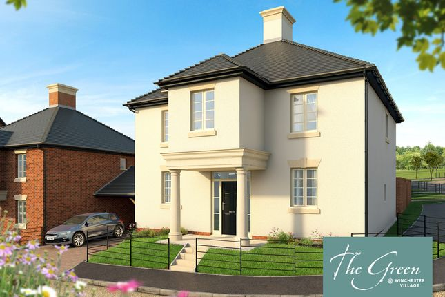 "Thumbnail Semi-detached house for sale in ""The Marianne @ The Green"" at Romsey Road, Winchester"