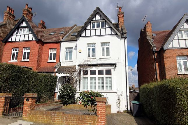 Thumbnail Semi-detached house for sale in Onslow Gardens, Muswell Hill/Highgate Borders
