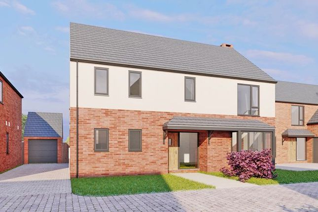 Thumbnail Detached house for sale in Plot 3, Moorcroft Farm, Crowle