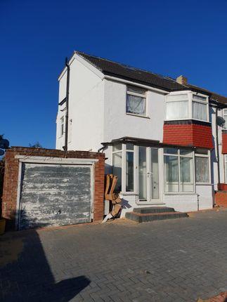 Thumbnail Semi-detached house to rent in Wakefield Gardens, Redbridge, Essex