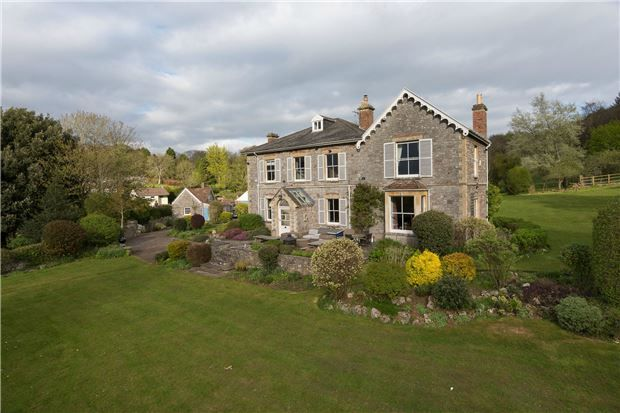 Thumbnail Detached house for sale in Cleeve Hall, Cleeve Hill Road, Cleeve, Bristol