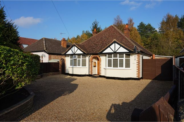 Thumbnail Detached bungalow for sale in Pinewood Avenue, New Haw