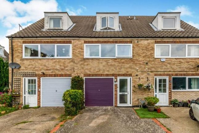 Thumbnail Town house to rent in Northleigh Close, Maidstone