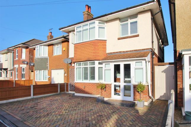 Thumbnail Detached house for sale in King George Avenue, Moordown, Bournemouth