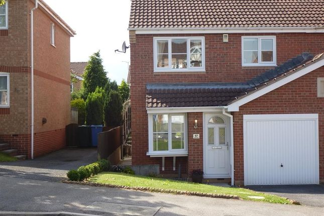 Thumbnail Semi-detached house to rent in Lancaster Walk, Worksop