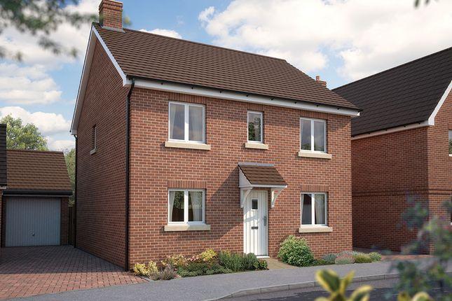 "Thumbnail Detached house for sale in ""The Buxton"" at Bridge Road, Bursledon, Southampton"