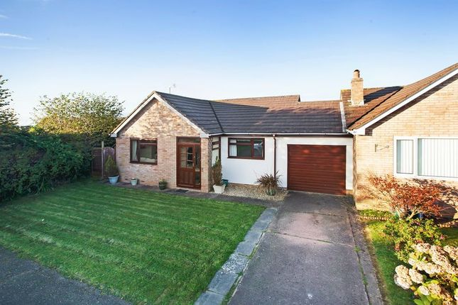 Thumbnail Detached bungalow for sale in Melhuish Close, Witheridge, Tiverton