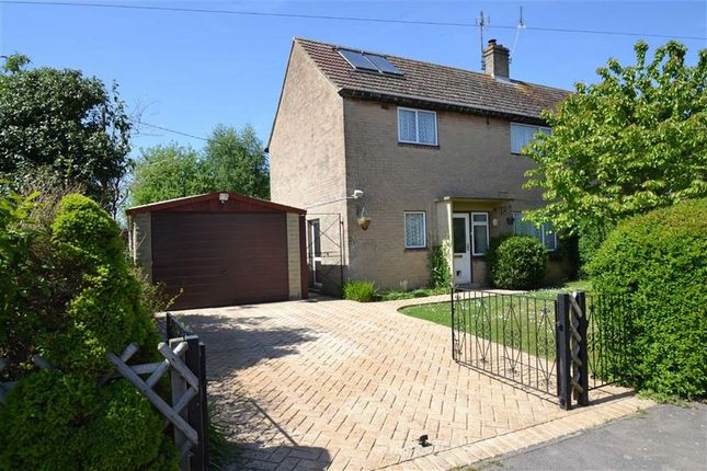 Thumbnail Semi-detached house for sale in Manor Crescent, Compton, Newbury, Berkshire