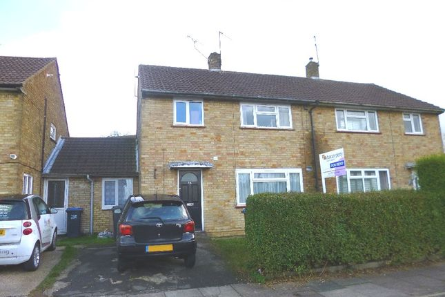Thumbnail Semi-detached house to rent in High Dells, Hatfield
