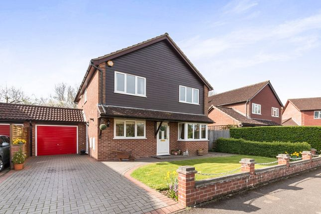 Thumbnail Detached house for sale in Hartswood, Chineham, Basingstoke