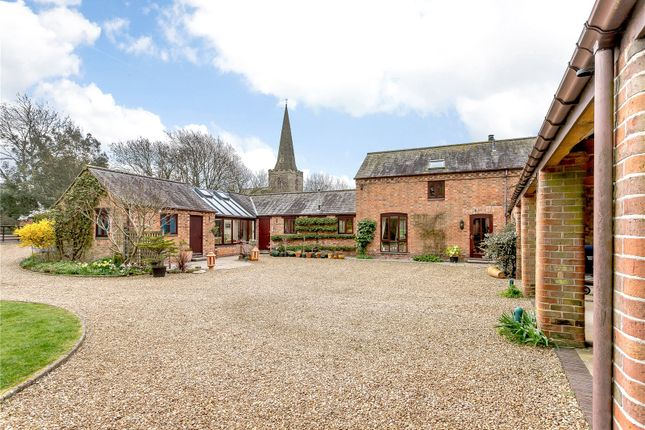 Thumbnail Detached house for sale in Church Lane, Gilmorton, Lutterworth, Leicestershire